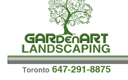 Garden Art Landscaping Header Logo
