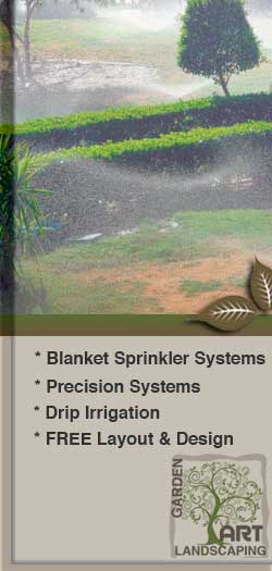 GardenArt Landscaping provides different types of irrigation systems, see our vast selection.